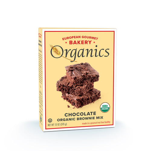 Organic Chocolate Brownie Mix - Hudson River Foods