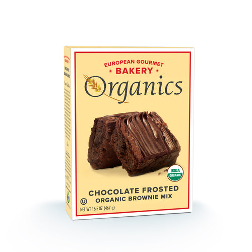 Organic Chocolate Frosted Brownie Mix - Hudson River Foods
