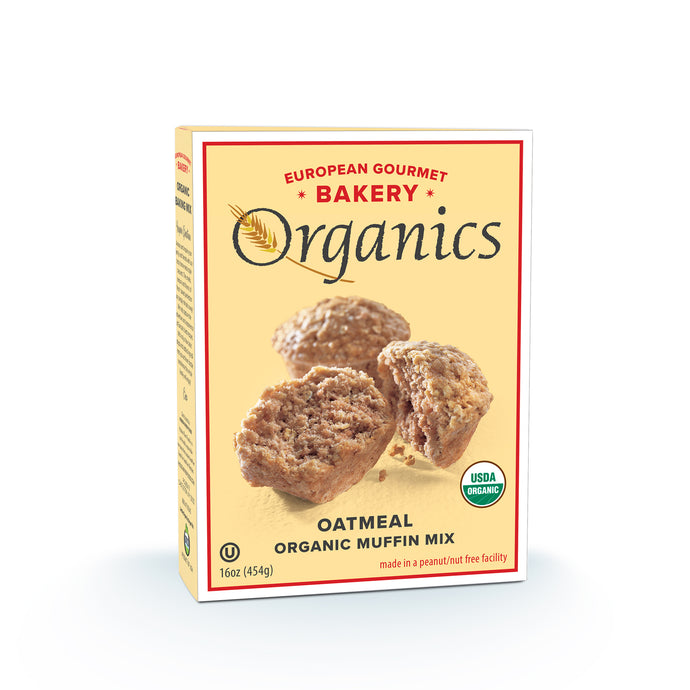 Organic Oatmeal Muffin Mix - Hudson River Foods