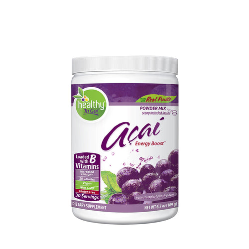 Acai Energy Boost 30 Serving Canister - Hudson River Foods