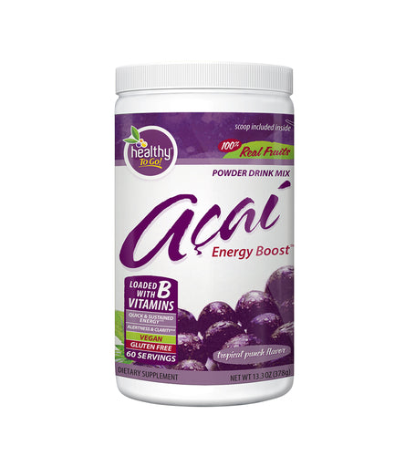 Acai Energy Boost 60 Serving Canister - Hudson River Foods