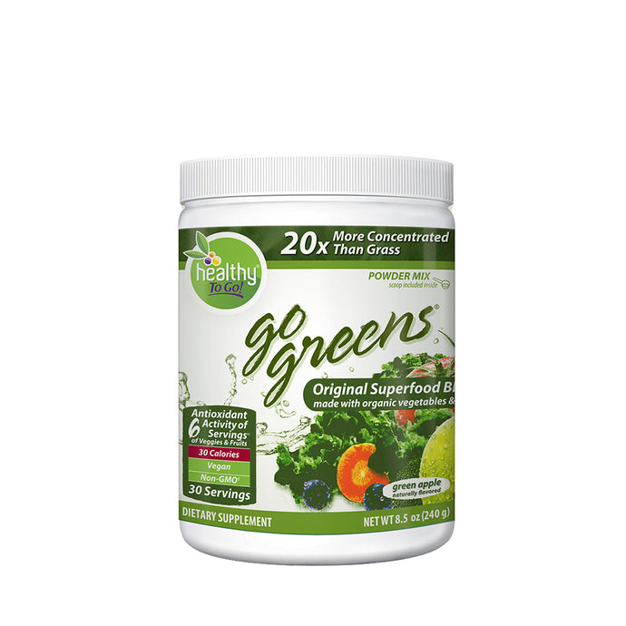 Go Green Original Superfood 30 Serving - Hudson River Foods