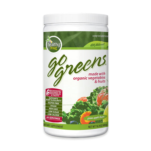 Go Greens Original Superfood 60 Serving - Hudson River Foods