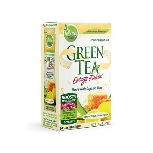 Green Tea Energy Fusion—box of 6 packets