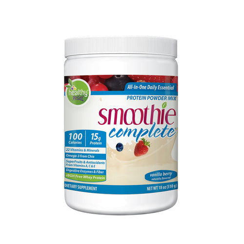 Complete Smoothie - Vanilla Berry 20 Serving - Hudson River Foods