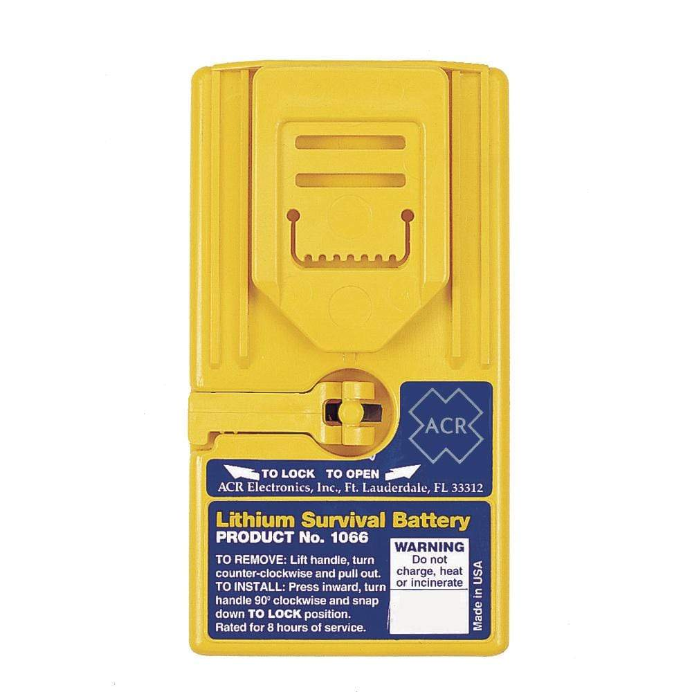 ACR Electronics Qualifies for Free Shipping ACR Lithium Survival Replacement Battery #1066