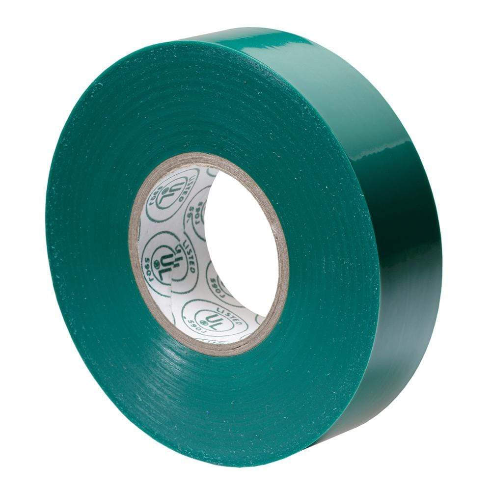 "Ancor Qualifies for Free Shipping Ancor Premium Electrical Tape 3/4"" x 66' Green #335066"