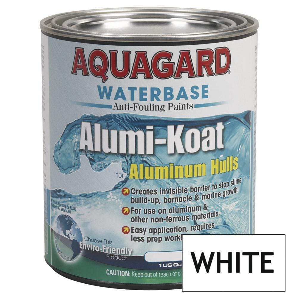 Aquagard Qualifies for Free Shipping Aquagard II Alumi-Koat Anti-Fouling Waterbased 1 Quart White #70007