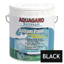 Load image into Gallery viewer, Aquagard Qualifies for Free Shipping Aquagard Waterbased Anti-Fouling Bottom Paint 1 Gallon Black #10101