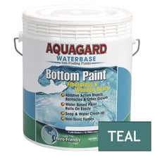 Load image into Gallery viewer, Aquagard Qualifies for Free Shipping Aquagard Waterbased Anti-Fouling Bottom Paint 1 Gallon Teal #10105