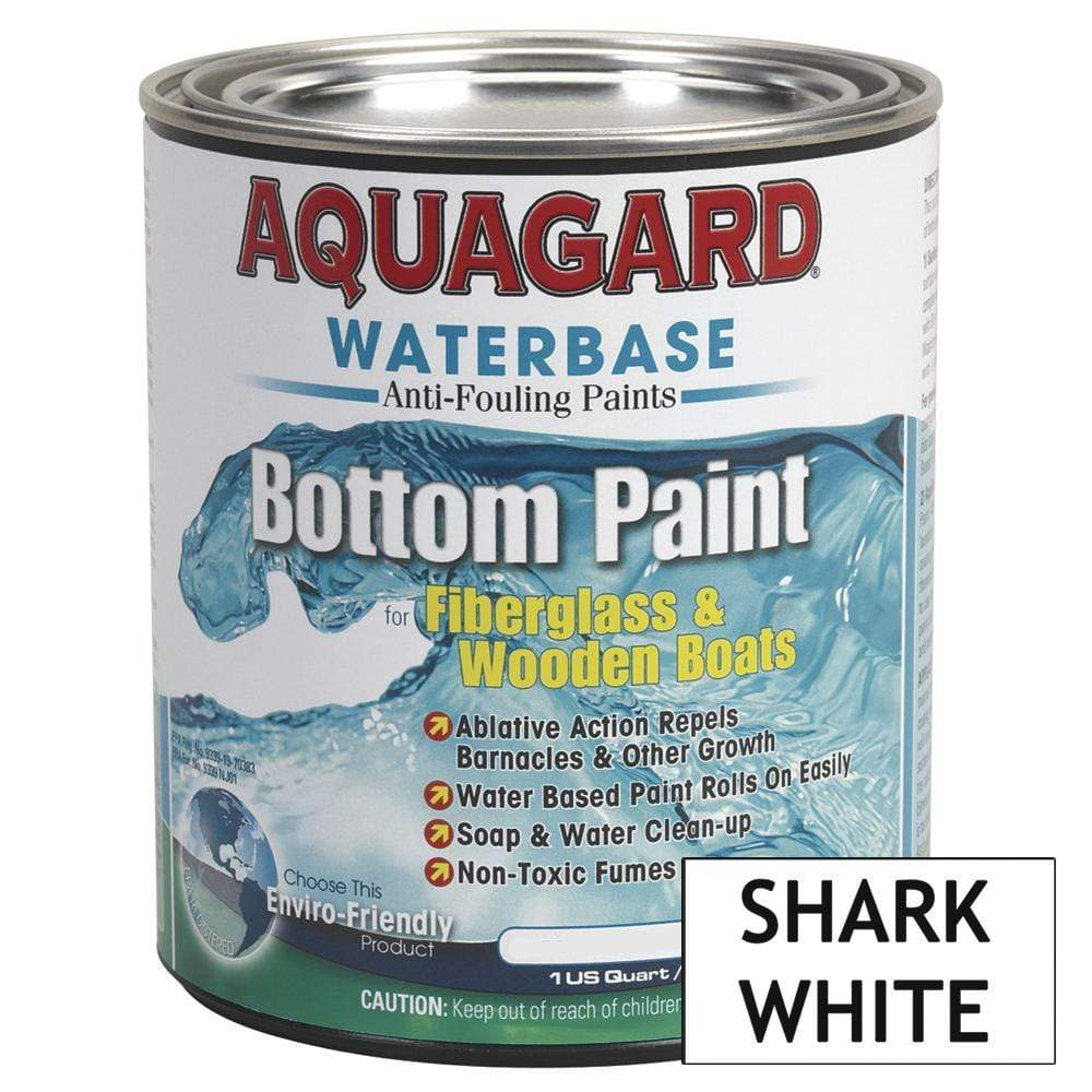 Aquagard Qualifies for Free Shipping Aquagard Waterbased Anti-Fouling Bottom Paint 1 Quart White #10007