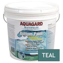 Load image into Gallery viewer, Aquagard Qualifies for Free Shipping Aquagard Waterbased Anti-Fouling Bottom Paint 2 Gallon Teal #10205