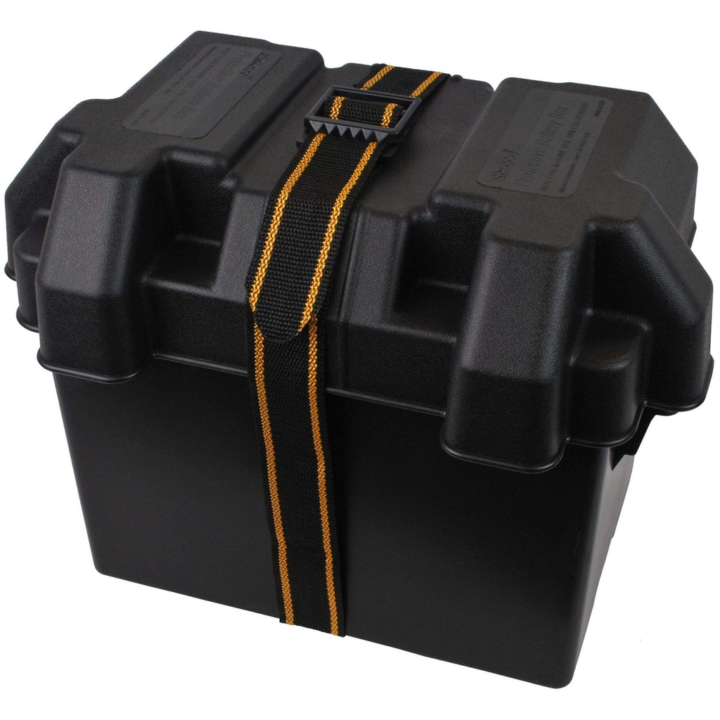 Attwood Marine Qualifies for Free Shipping Attwood Standard Battery Box Black Non-Vented #9069-1