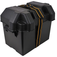 Load image into Gallery viewer, Attwood Marine Qualifies for Free Shipping Attwood Standard Battery Box Black Non-Vented #9069-1