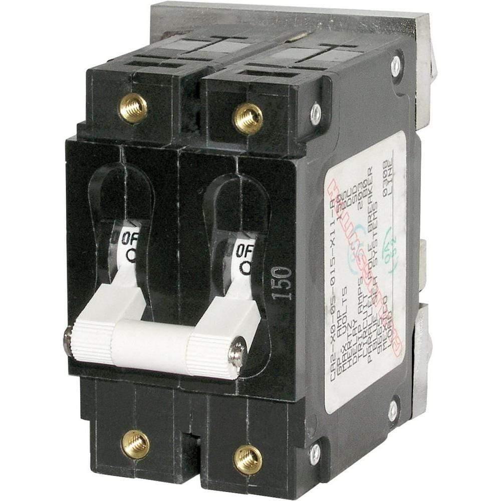 Blue Sea System Qualifies for Free Shipping Blue Sea 200a Double-Pole Circuit Breaker #7269