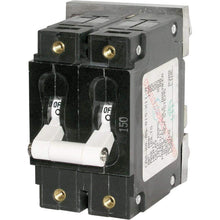 Load image into Gallery viewer, Blue Sea System Qualifies for Free Shipping Blue Sea 200a Double-Pole Circuit Breaker #7269