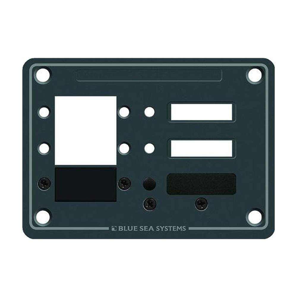 Blue Sea System Qualifies for Free Shipping Blue Sea 3-Position DC C-Series Panel Blank #8088
