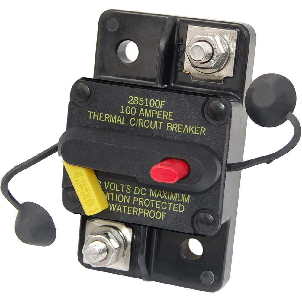 Blue Sea System Qualifies for Free Shipping Blue Sea 80a Circuit Breaker Surface-Mount 285 Series #7186