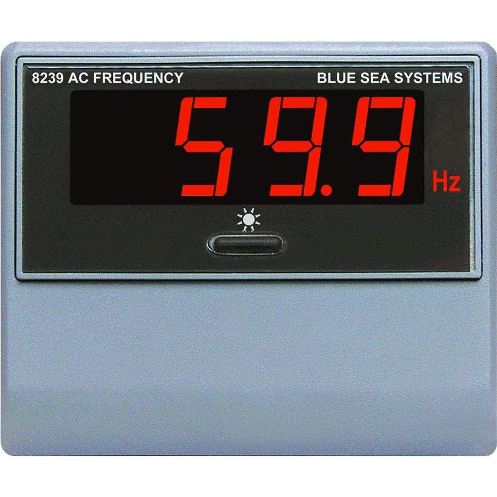 Blue Sea System Qualifies for Free Shipping Blue Sea AC Digital Frequency Meter #8239