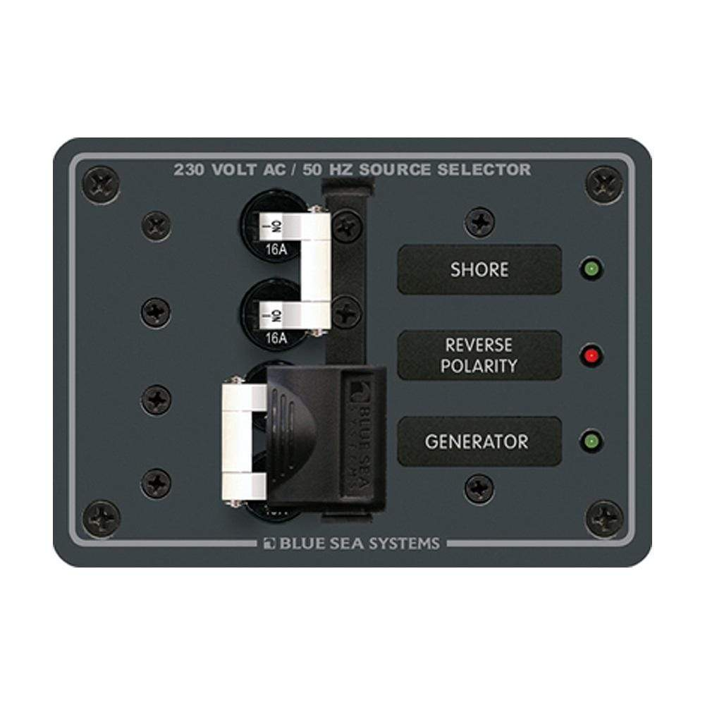 Blue Sea System Qualifies for Free Shipping Blue Sea AC Toggle Source Selector 230v 2 Sources #8132