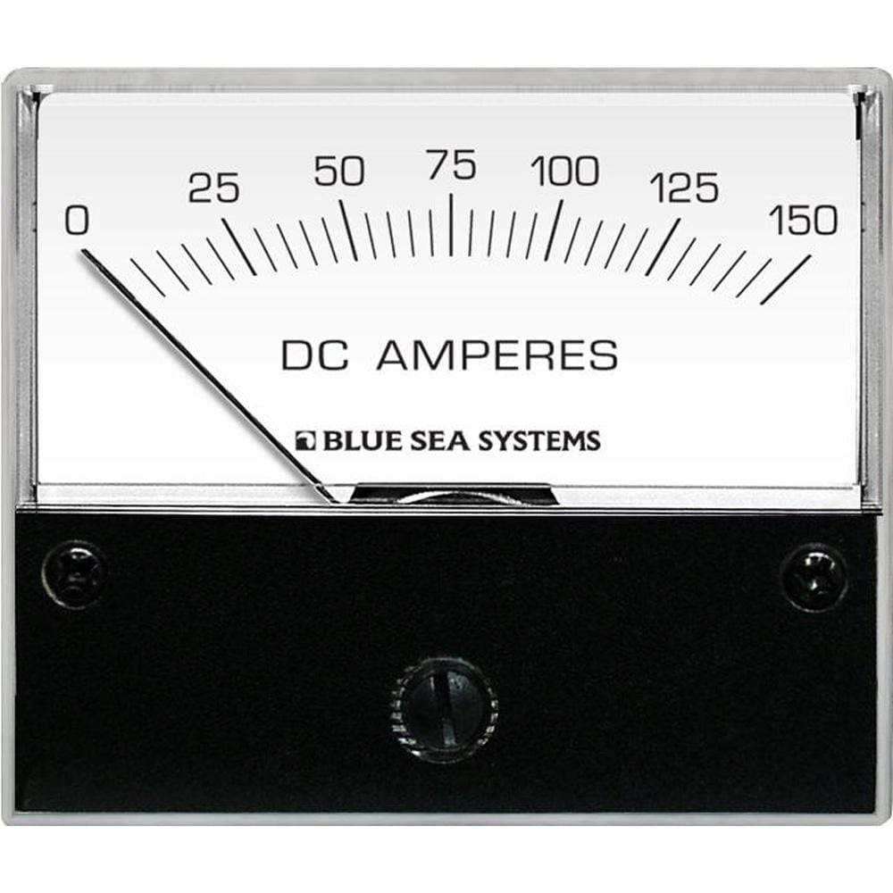"Blue Sea System Qualifies for Free Shipping Blue Sea DC Analog Ammeter 2-3/4"" Face 0-150a #8018"