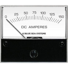 "Load image into Gallery viewer, Blue Sea System Qualifies for Free Shipping Blue Sea DC Analog Ammeter 2-3/4"" Face 0-150a #8018"