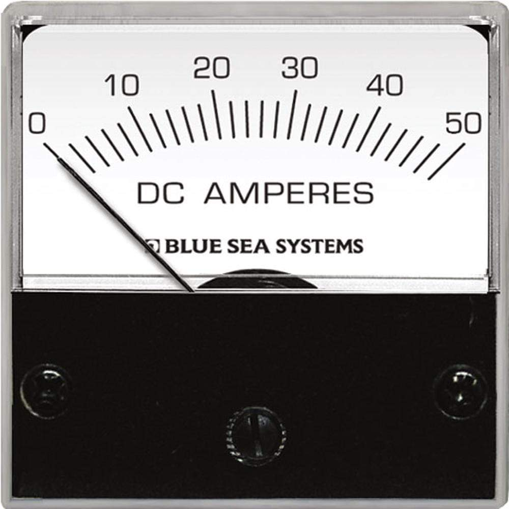 "Blue Sea System Qualifies for Free Shipping Blue Sea DC Analog Micro Ammeter 2"" Face 0-15a #8038"