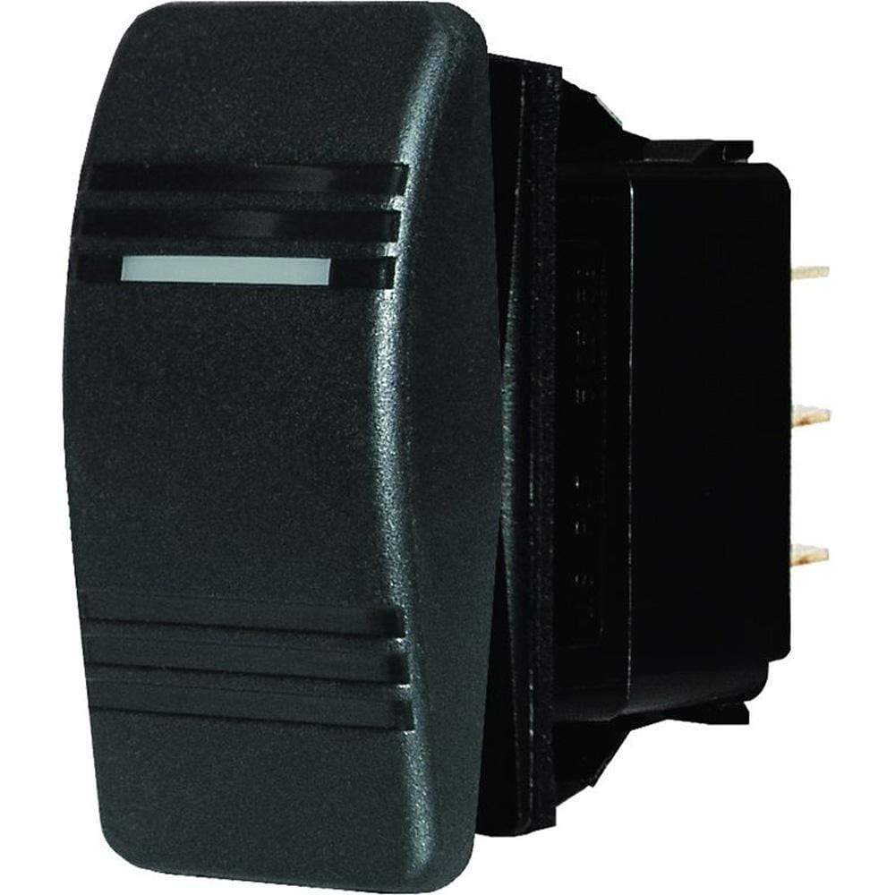 Blue Sea System Qualifies for Free Shipping Blue Sea Water Resistant Contura Switch Black #8285