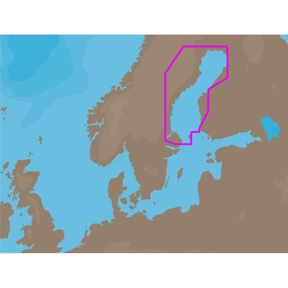 C-MAP USA Not Qualified for Free Shipping C-MAP EN-C259 C-Card Format Gulf of Bothnia #EN-C259C-CARD