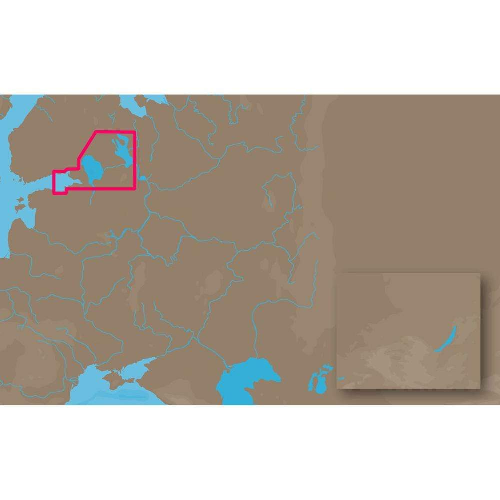 C-MAP USA Not Qualified for Free Shipping C-MAP MAX EN-M604 Russian Lakes C-Card #EN-M604C-CARD