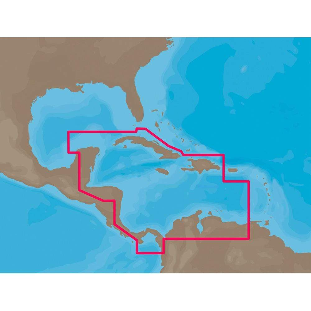 C-MAP USA Qualifies for Free Shipping C-MAP NT NA-C502 Western Caribbean Sea C-Card #NA-C502C-CARD
