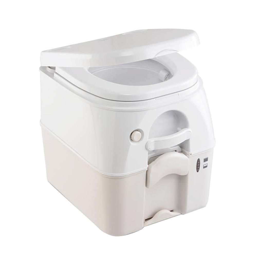 Dometic Qualifies for Free Shipping Dometic 975 Portable Toilet 5.0 Gallon Tan w/Brackets #301097502