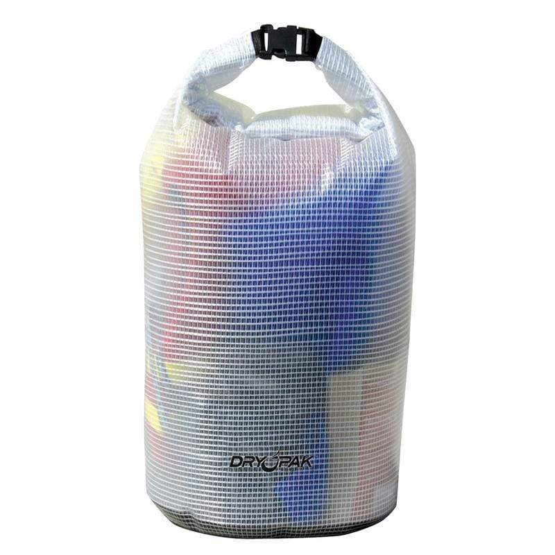 Dry Pak Roll Top Dry Gear Bag Medium Clear #WB-6