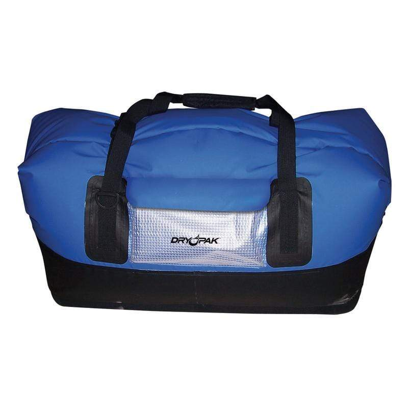 Kwik Tek Qualifies for Free Shipping Dry Pak Waterproof Duffel Bag Blue Large #DP-D1BL