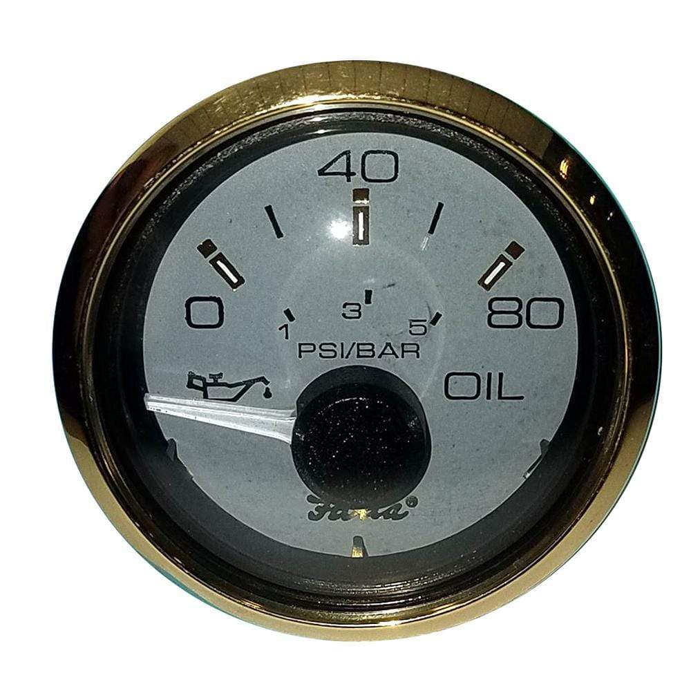 "Faria Qualifies for Free Shipping Faria 2"" Oil Pressure Gauge 80 PSI #14502"