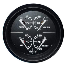 "Load image into Gallery viewer, Faria Qualifies for Free Shipping Faria 4"" 4-in-1 Multifunction Gauge Volt 10-16v #32851"
