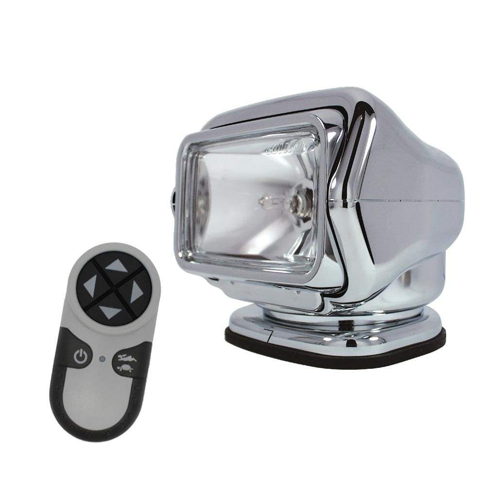 Golight Qualifies for Free Shipping Golight HID Stryker Searchlight 12v w/Wireless Remote Chrome #30061