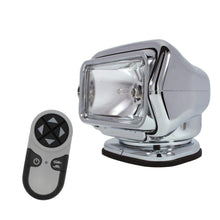 Load image into Gallery viewer, Golight Qualifies for Free Shipping Golight HID Stryker Searchlight 12v w/Wireless Remote Chrome #30061
