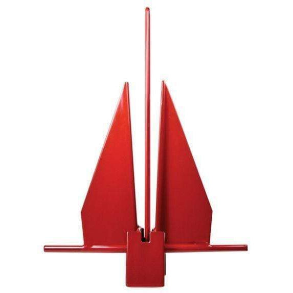 Greenfield Products Yachting Anchor 17 lb Red #GPI-17RED