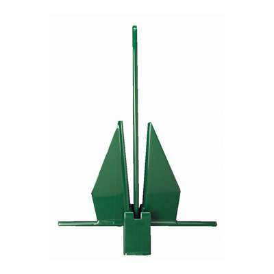Greenfield Products Yachting Anchor 8 lb Green #GPI-8FGRN