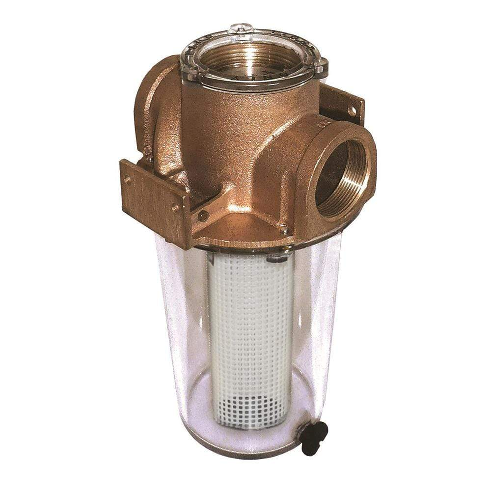 "GROCO Qualifies for Free Shipping GROCO 1-1/4"" Raw Water Strainer #ARG-1250-P"