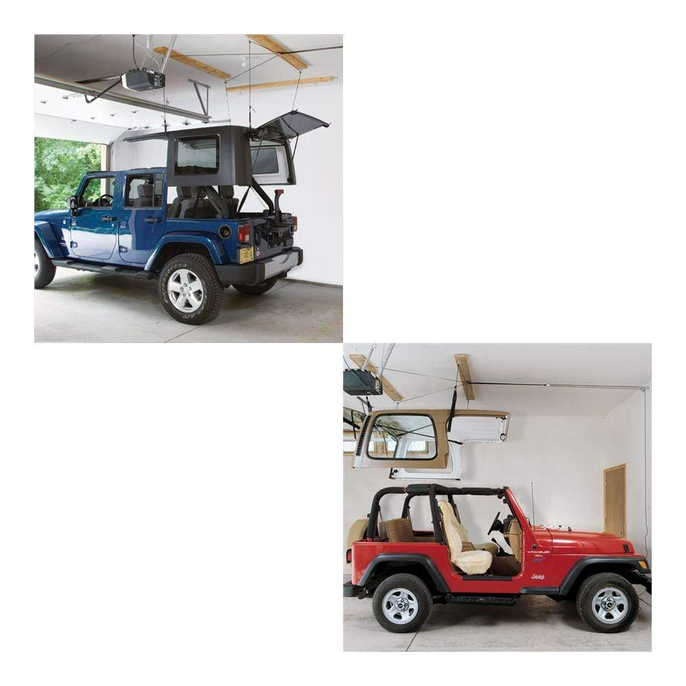 Harken Qualifies for Free Shipping Harken Hoister Jeep Hard Top 4-Point Lift System 45-145 lb #7803.JEEP