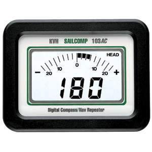 KVH Industries Qualifies for Free Shipping KVH Azimuth Sailcomp 103AC 2nd Display #02-0407