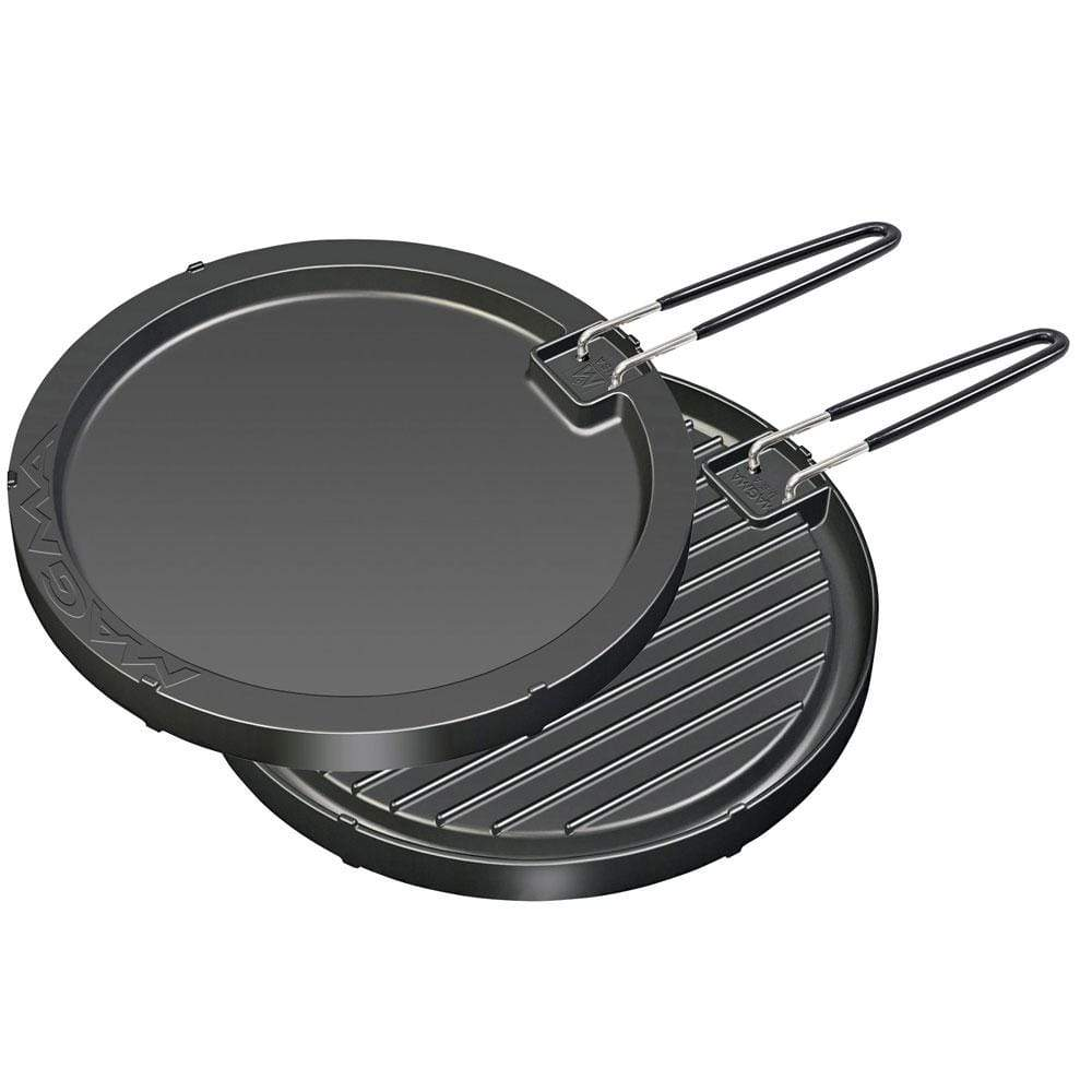 "Magma Products Qualifies for Free Shipping Magma 2 Sided Non-Stick Griddle 11-1/2"" Round #A10-196"