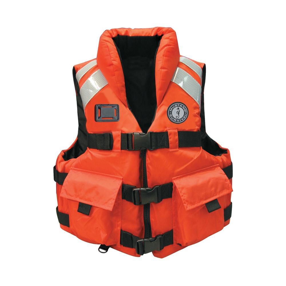 Mustang Survival Qualifies for Free Shipping Mustang High Impact SAR Vest SM #MV5600-S-OR