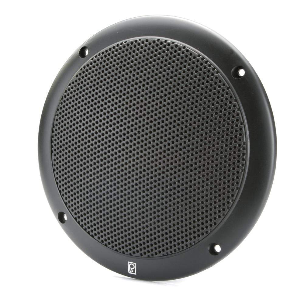 "Polyplanar Qualifies for Free Shipping Poly-Planar 5"" 2-Way Coax-Integral Grill Speaker Pr Black #MA4055B"