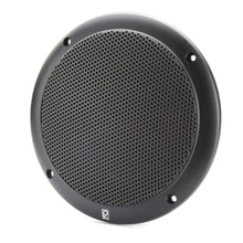 "Load image into Gallery viewer, Polyplanar Qualifies for Free Shipping Poly-Planar 6"" 2-Way Coax Integral Grill Marine Speakers Black #MA4056B"