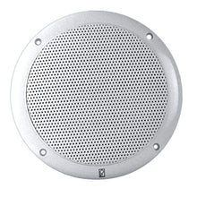 "Load image into Gallery viewer, Polyplanar Qualifies for Free Shipping Poly-Planar 6"" Dual-Cone Integral Grill Speaker Pr White #MA4600"