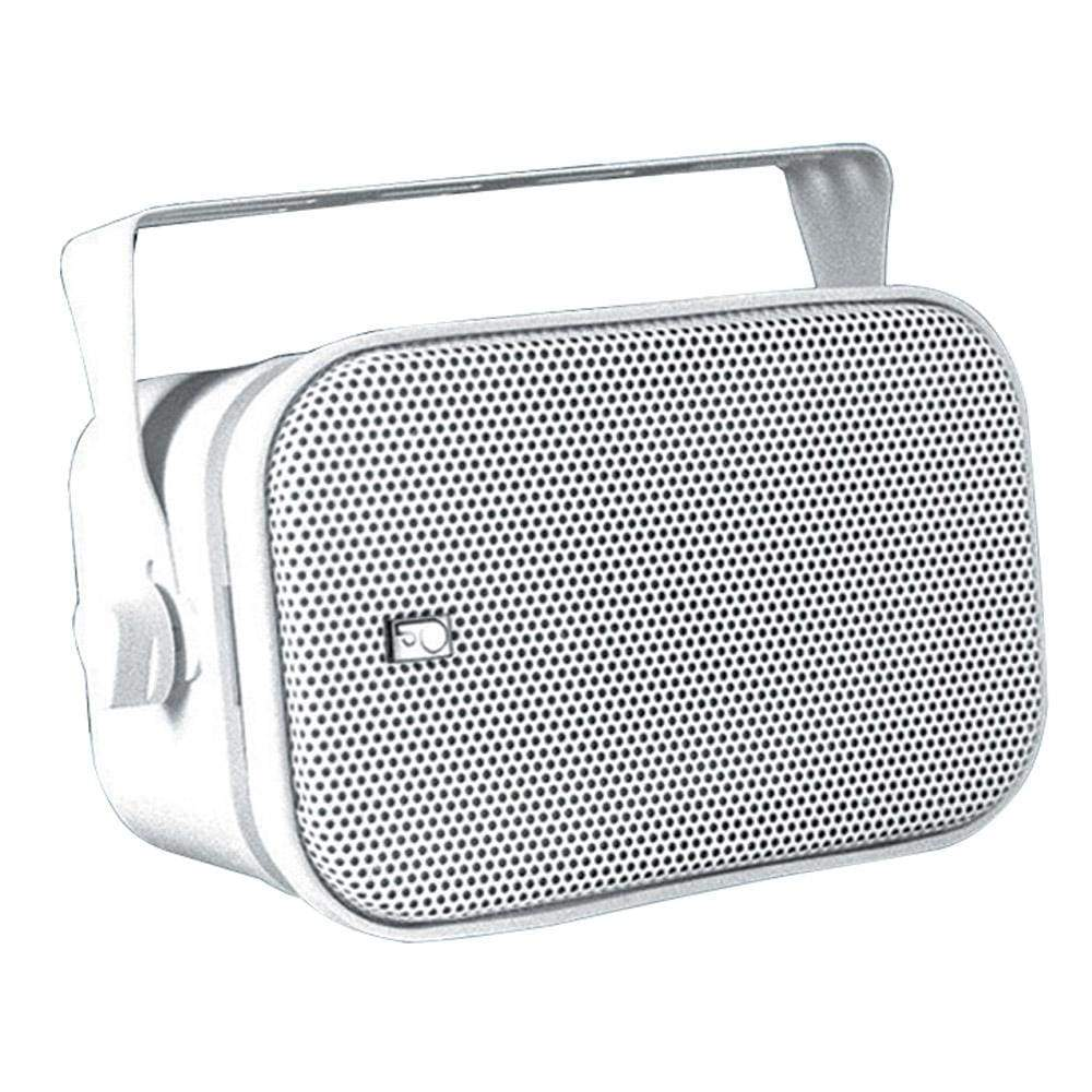 Polyplanar Qualifies for Free Shipping Poly-Planar Compact Box Speaker Pair White #MA800W