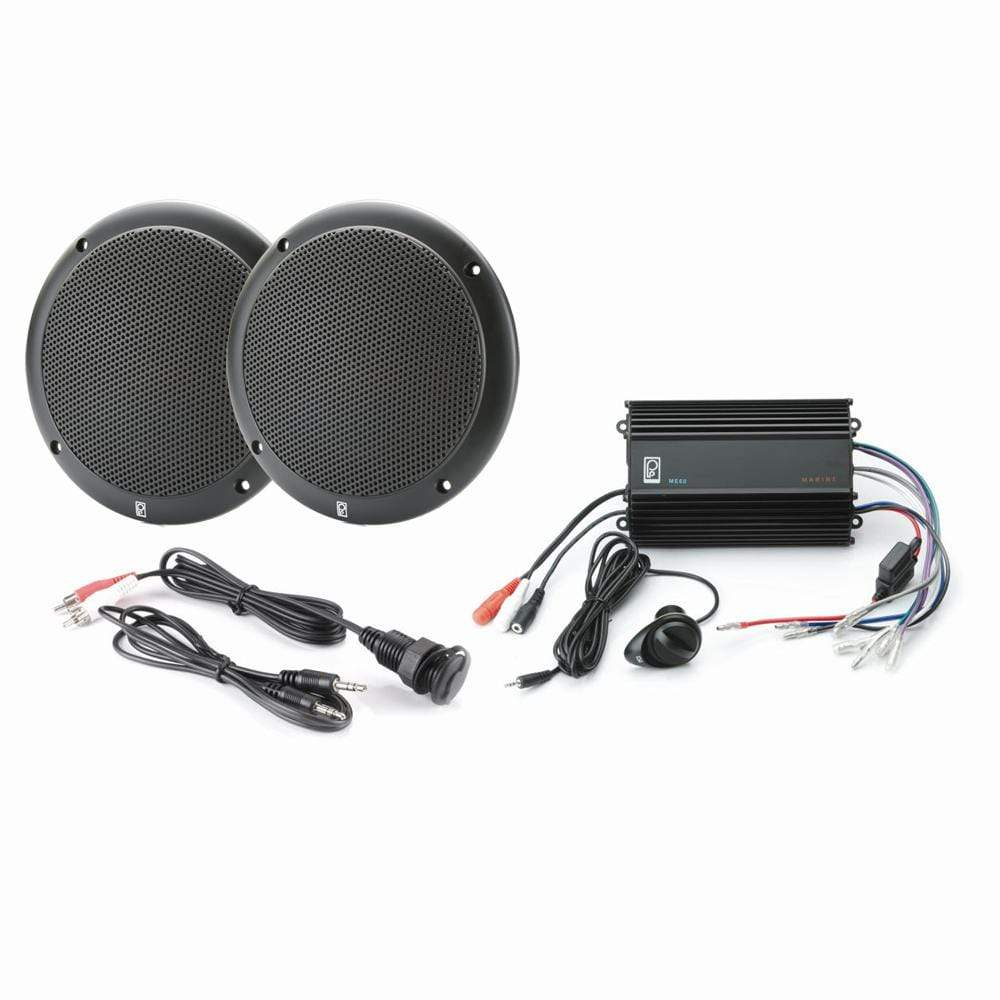 Polyplanar Qualifies for Free Shipping Poly-Planar MP3-KIT4-B MP3 Input/MA4055B/ME-60 Kit Black #MP3-KIT4-B